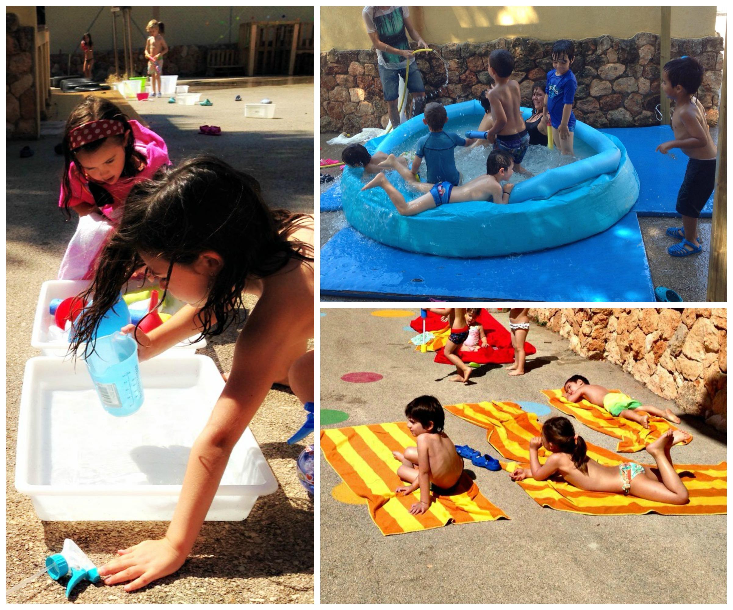 collage festa aigua